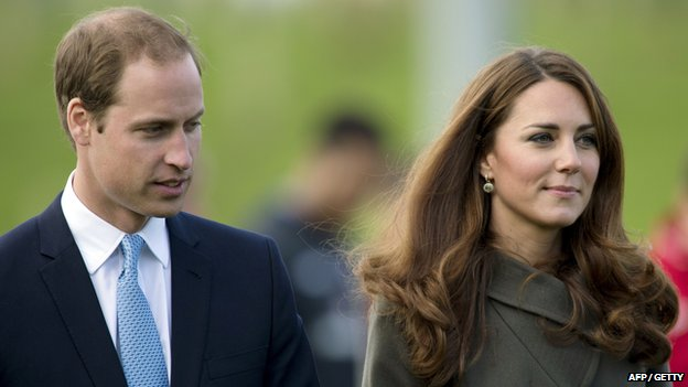 The Duke and Duchess of Cambridge, William and Catherine