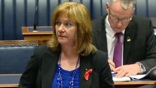 Junior Minister Jennifer McCann