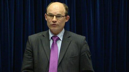 Deputy Speaker Roy Beggs