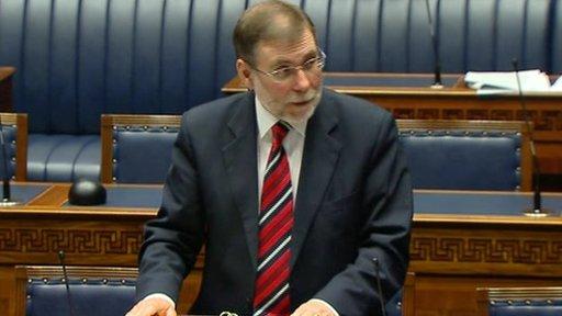 Social Development Minister Nelson McCausland