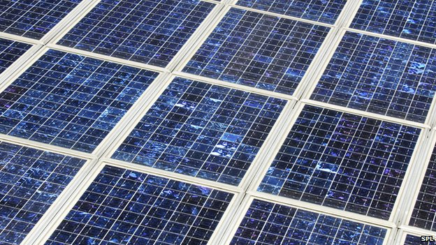 PV solar panels turn heat into electricity