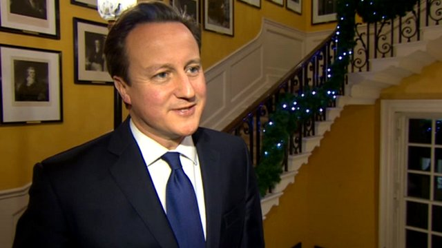 Prime Minister David Cameron