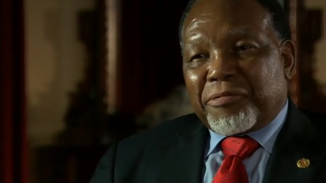 South Africa&#039;s Deputy President Kgalema Motlanthe