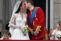 Prince William and his newly titled bride, the Duchess of Cambridge, kissed on the balcony of Buckingham Palace after their wedding at Westminster Abbey.