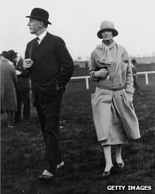 Coco Chanel with the Duke of Westminster