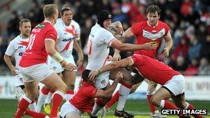 England v Wales rugby league international match