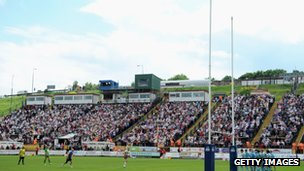 Bradford Bulls v London Broncos in 2012