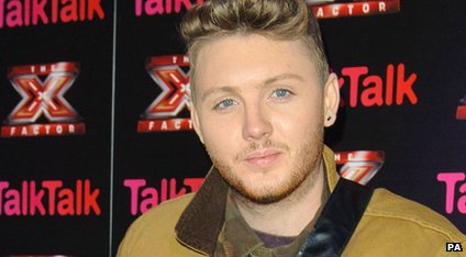 James Arthur at an X Factor press event.