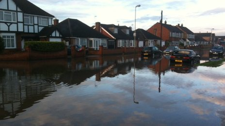 Flooding in Lanesborough Road