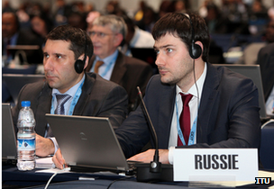 Russia delegation at ITU