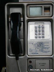 Exning phone box
