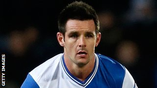Blackburn Rovers defender Scott Dann