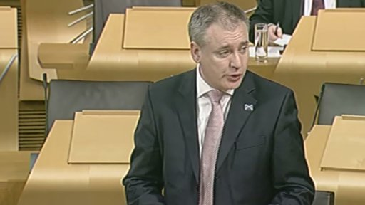 Rural Affairs and Environment Secretary Richard Lochhead