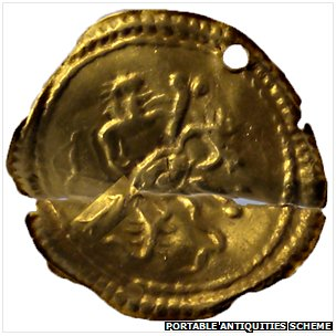 Roman gold disc sheet