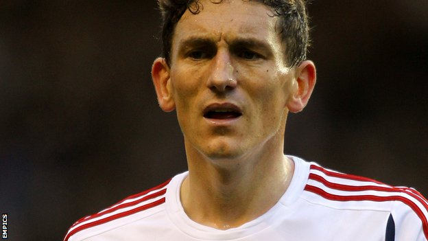 Bolton Wanderers midfielder Keith Andrews