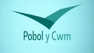Pool y Cwm graphic