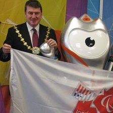Windsor and Maidenhead Mayor Colin Rayner and Wenlock