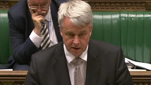 Commons Leader Andrew Lansley
