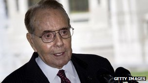 Bob Dole file picture