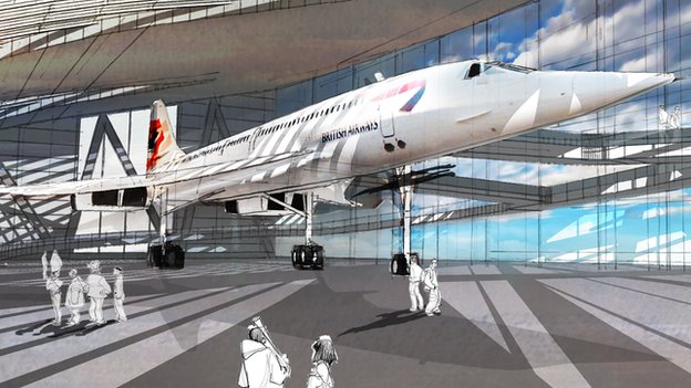 Artist impression of the new Bristol Aerospace Centre