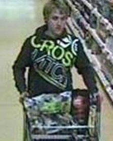 CCTV of Oxford shoplifter