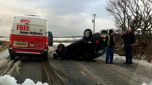 Crash near Strichen