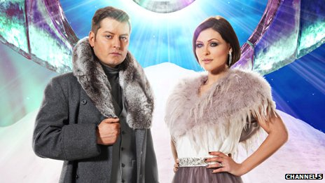 Brian Dowling and Emma Willis