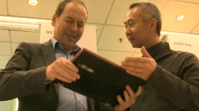 Rory Cellan-Jones talks to Lenovo's chief designer Yao Yingja