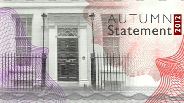 Autumn Statement graphics