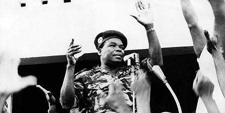 Benin coup leader Col Soglo