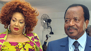 Cameroonian President Paul Biya in 2011