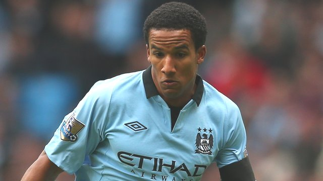Manchester City winger Scott Sinclair