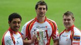 Wales trio Toby Faletau, Luke Charteris and Dan Lydiate