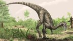 An artist's impression of Nyasasaurus parringtoni