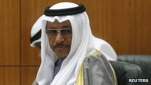 Sheikh Jaber al-Mubarak al-Sabah (28 March 2012)