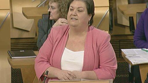 Labour health spokesperson Jackie Baillie