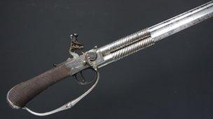 Sword-pistol