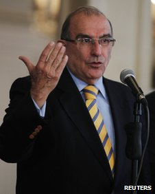 Colombian chief negotiator Humberto de la Calle