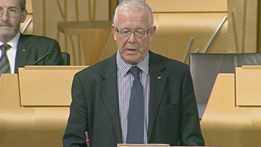SNP MSP Bruce Crawford