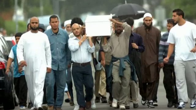 Funeral of Yaseen Ege