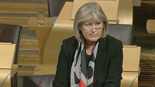 Tory MSP Margaret Mitchell