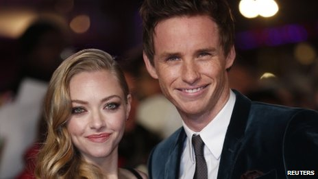 Amanda Seyfried and Eddie Redmayne play the lovers Cosette and Marius