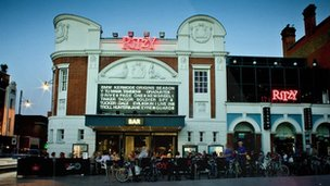 Picturehouse cinema The Ritzy, in Brighton