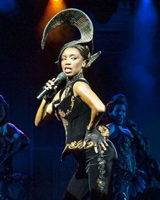 Heather Headley as Rachel Marron in The Bodyguard