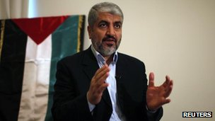 Khaled Meshaal, file pic