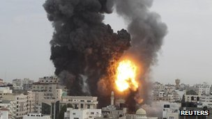 Israeli attack on Gaza, 17 November