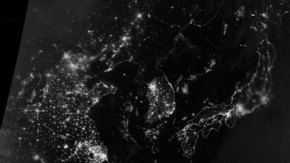 Pictures Satellite Pictures Show Earth At Night Cbbc