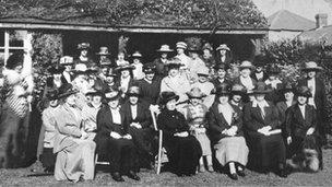 WI meeting, Llanfairpwll, c. 1920