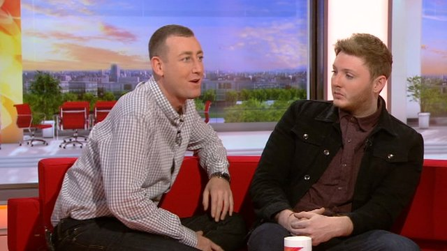 Christopher Maloney and James Arthur