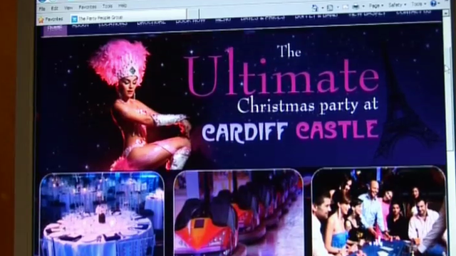 Poster for event at Cardiff Castle
